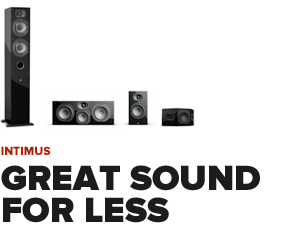 Intimus Home Theater Speakers