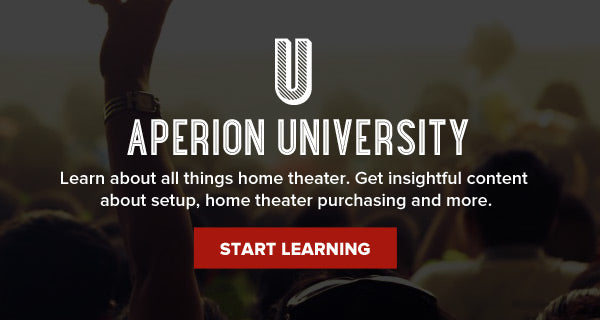 Best Home Theater Surround Sound Audio Systems Aperion Audio