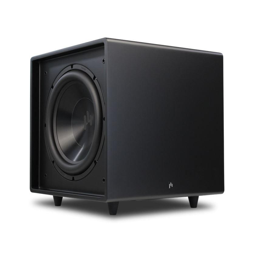 Open Box ~ Bravus II 12D Powered Subwoofer - Stealth Black - Aperion Audio