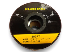 In-Wall and In-Ceiling 14AWG CL2 Rated Speaker Wire - Aperion Audio