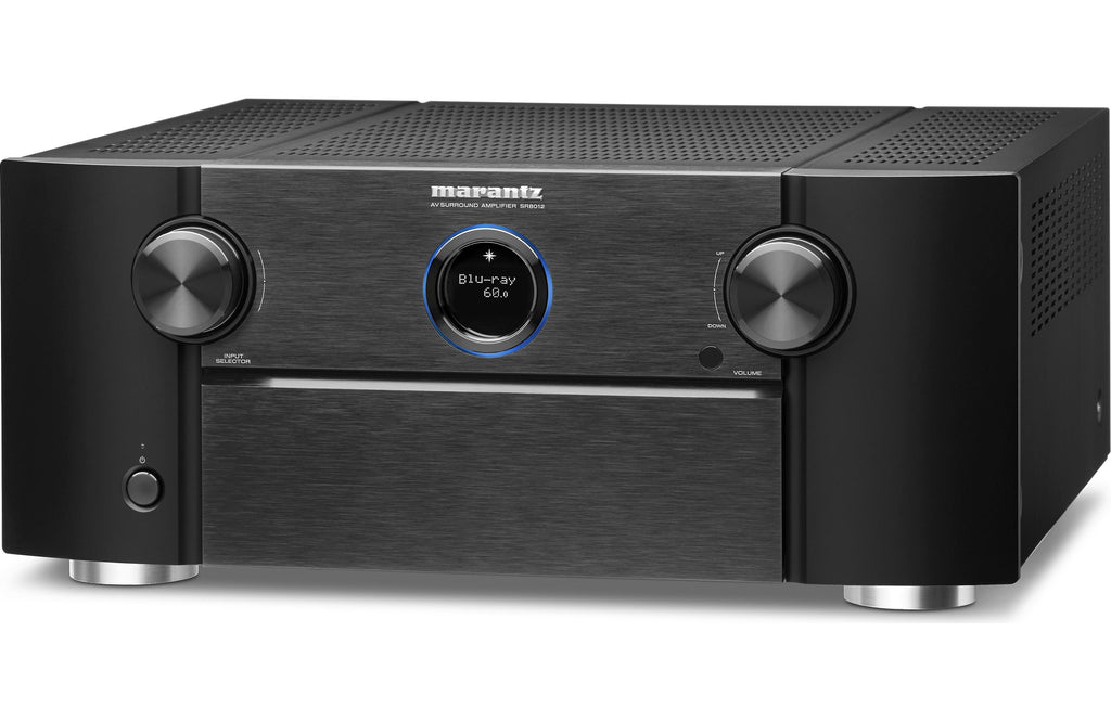 Marantz SR8012 11.2 AVR w/ Dolby Atmos, Full 4K Ultra HD, Wi-Fi, Bluetooth & HEOS Music Streaming - Aperion Audio