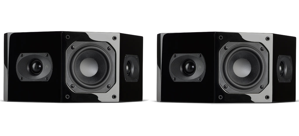 Closeout ~ Intimus 4BP Bipole Surround Speaker Pair - Gloss Black