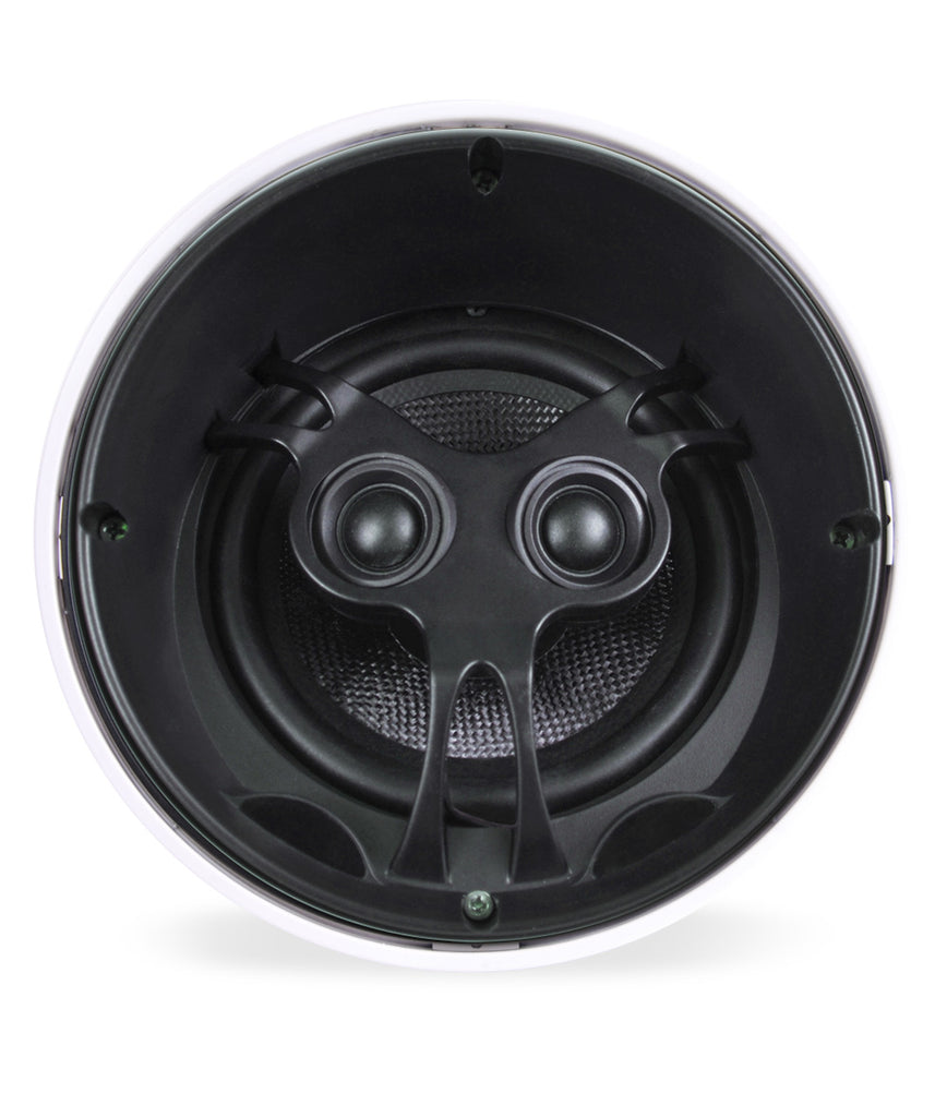 "Closeout ~ Aperion Audio 6.5"" Woofer & Dual Tweeter In-Ceiling Kitchen Bathroom Bedroom 2-Channel Speaker - Aperion Audio"