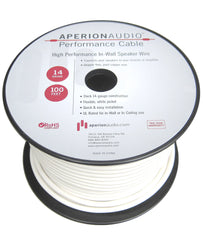 In-Wall and In-Ceiling 14AWG CL2 Rated Speaker Wire - 100 Ft.