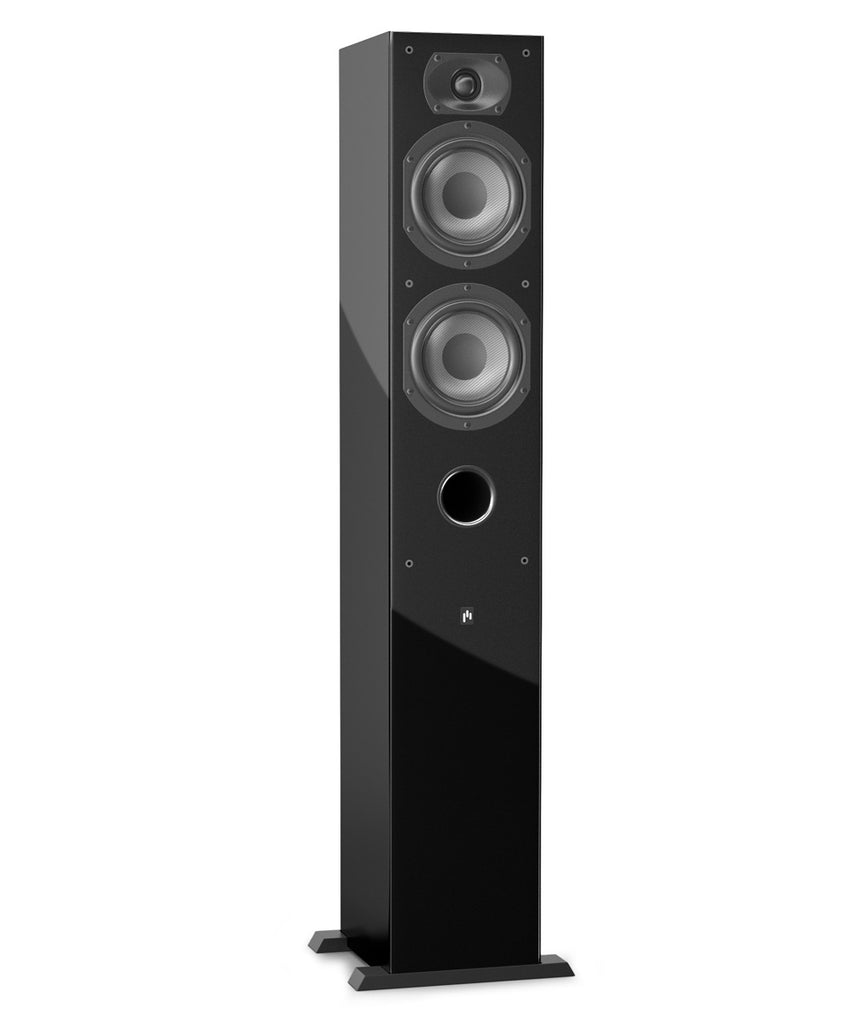 Closeout (Open Box) ~ Intimus 5T Tower Speaker - Gloss Black ~ 1 left! - Aperion Audio