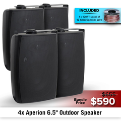 "Aperion Audio 6.5"" Outdoor Speaker Bundles - Aperion Audio"