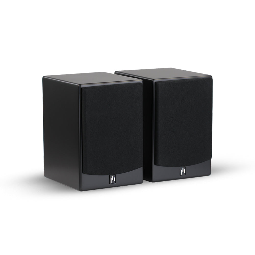 Open Box ~ Allaire Bluetooth Speaker Pair - Stealth Black