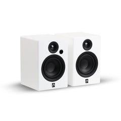 Aperion Audio Allaire Powered Gaming APTX4.0 Bluetooth Speaker Pair - Aperion Audio