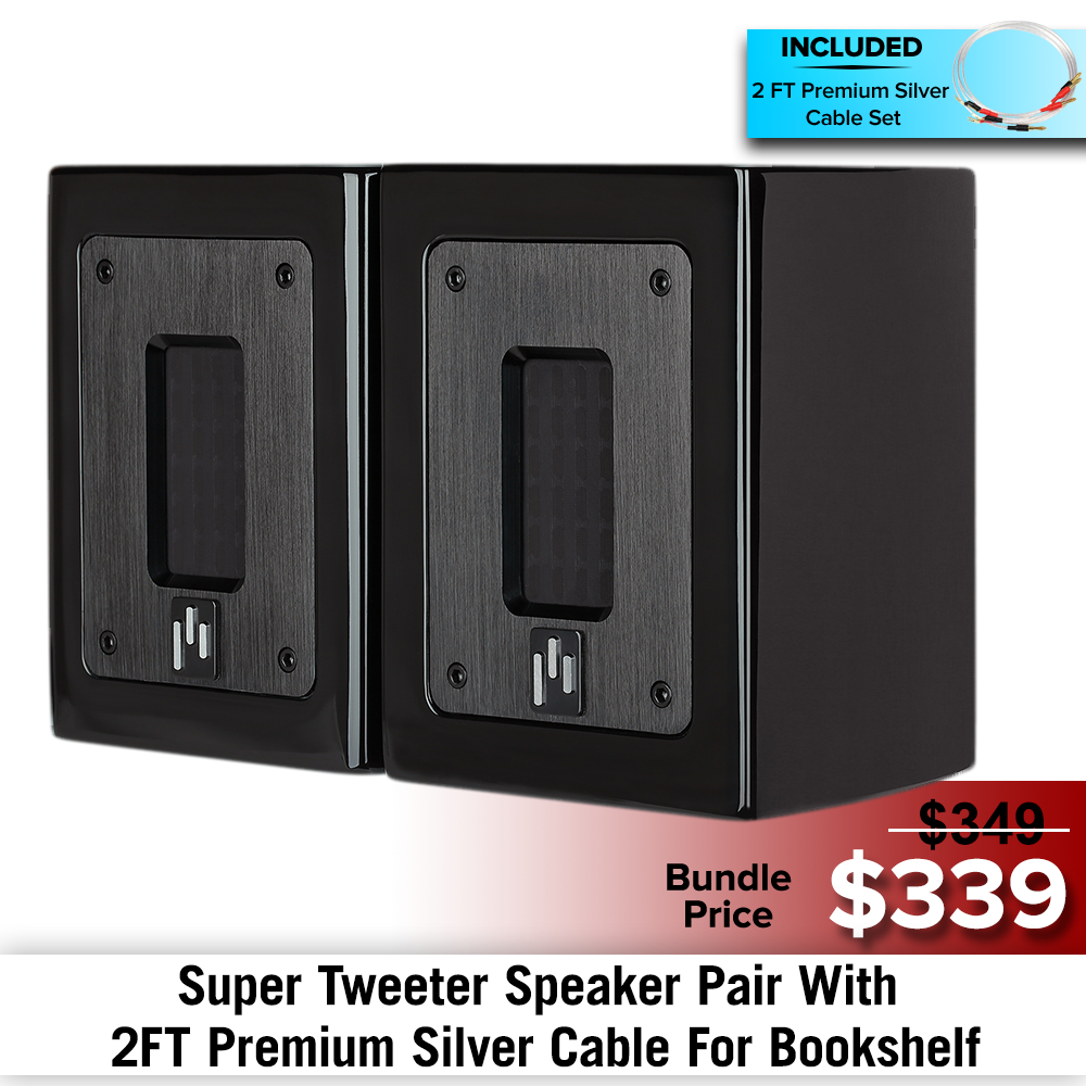 Planar Ribbon Super Tweeter Speaker Bundles
