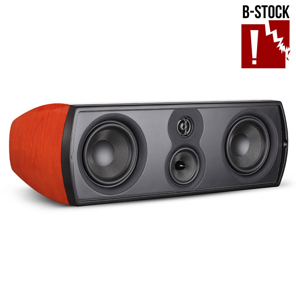 B-Stock ~ Verus II Grand Center Channel Speaker - Gloss Cherry - Aperion Audio