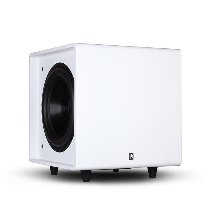 Open Box ~ Bravus II 10D Powered Subwoofer - Pure White - Aperion Audio