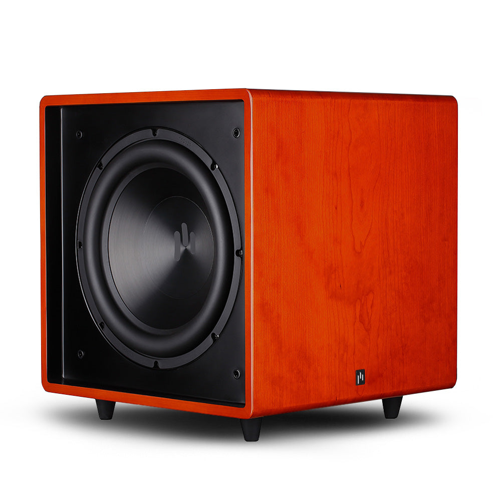 Open Box ~ Bravus II 12D Powered Subwoofer - Gloss Cherry - Aperion Audio