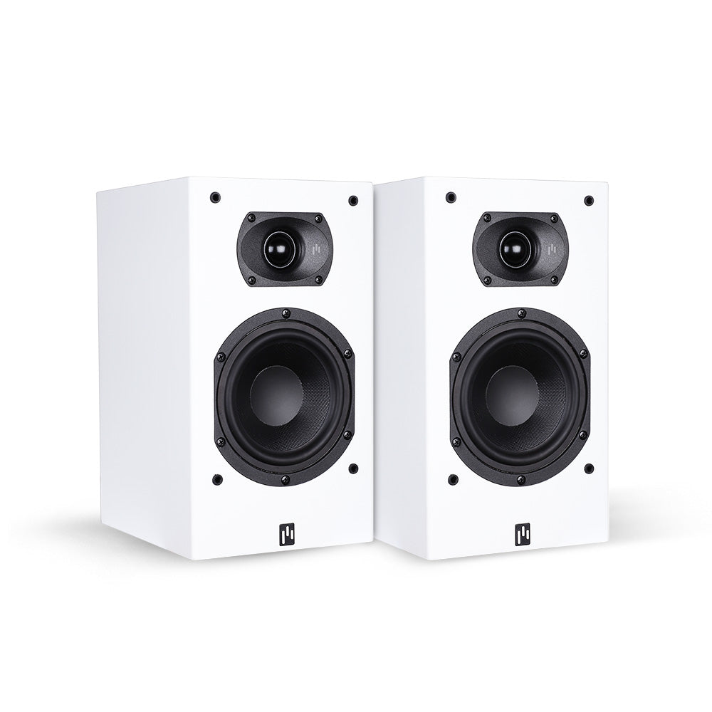 Open Box ~ Intimus 5B Bookshelf Speaker Pair - Pure White