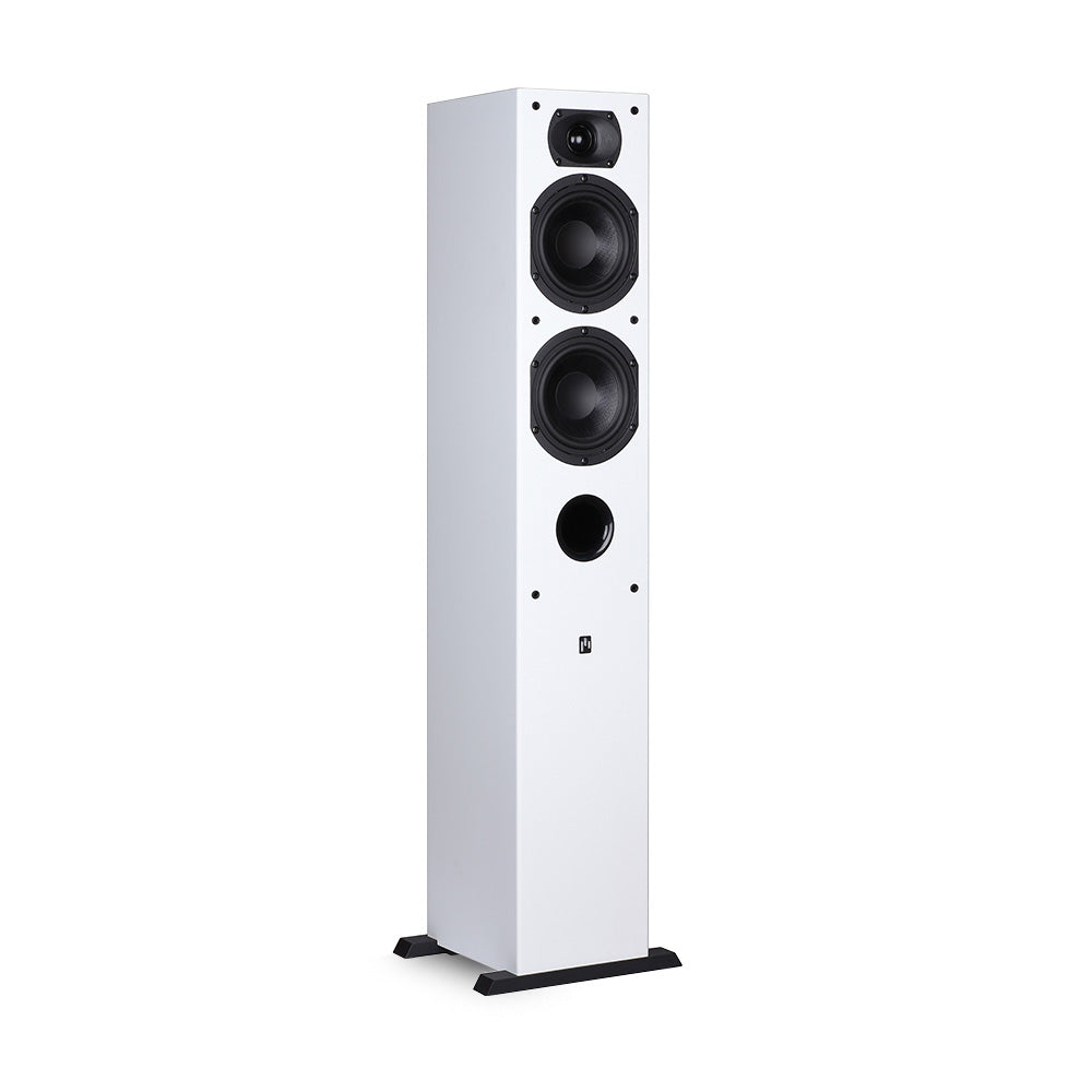 Intimus 5t Tower Speaker Pure White Aperion Audio