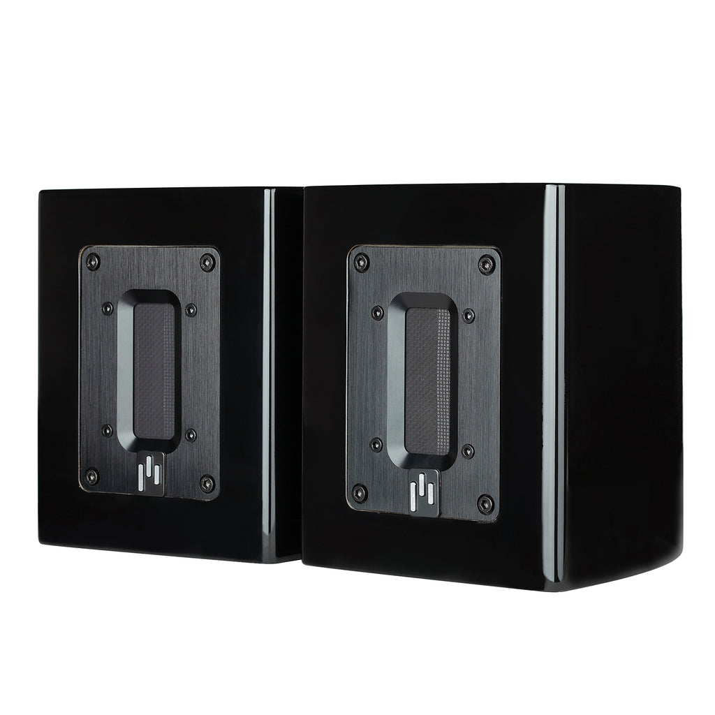 Open Box ~ Aperion Audio Aluminum Ribbon Super Tweeter Speaker Pair Gloss Black - Aperion Audio
