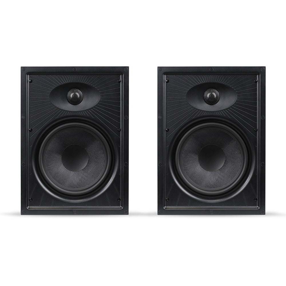 "Aperion Audio Clearus 2-Way 8"" In-Wall Speaker Pair"