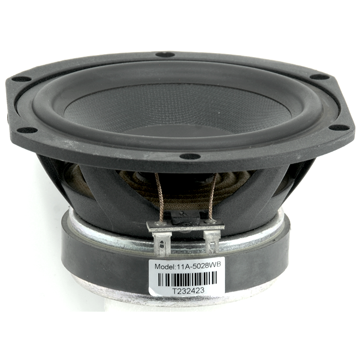"5.25"" 8 Ohm Woven-Fiberglass Mid-Bass Driver - Aperion Audio"
