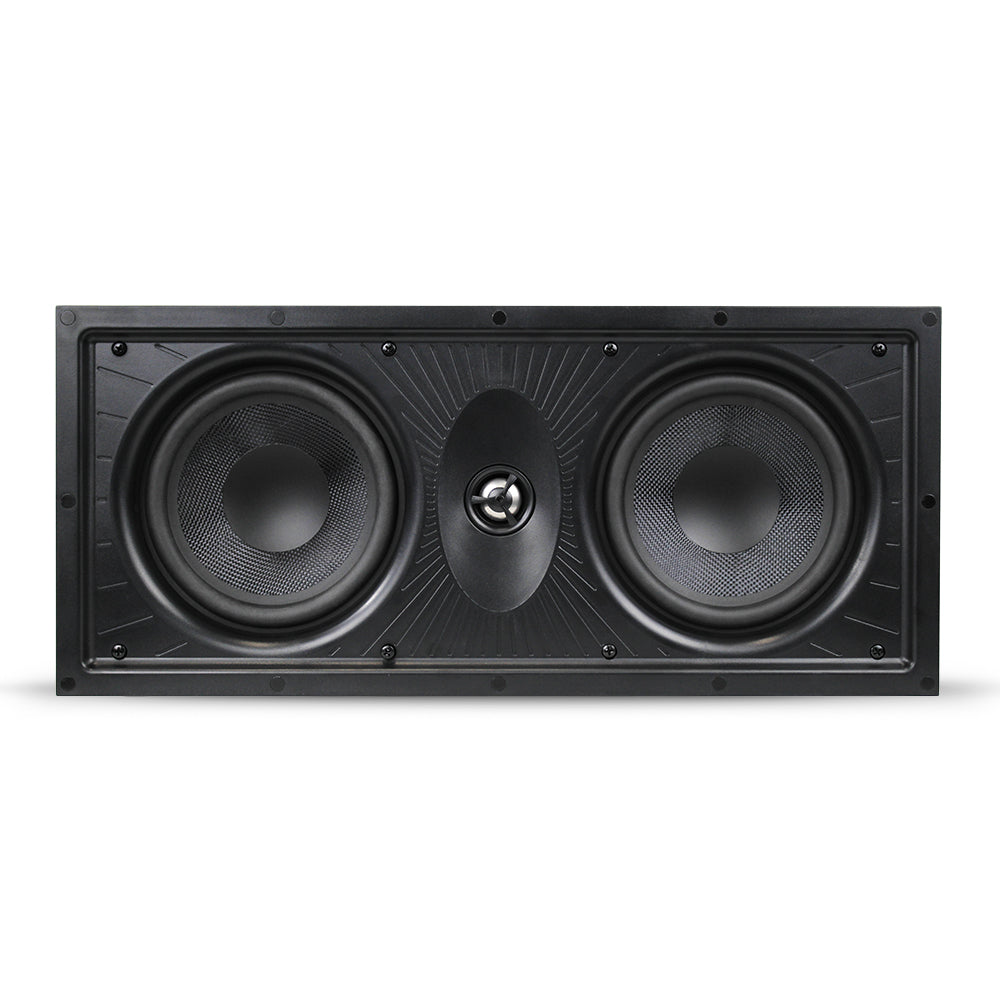 "Aperion Audio Clearus Dual 6.5"" LCR In-Wall Speaker"