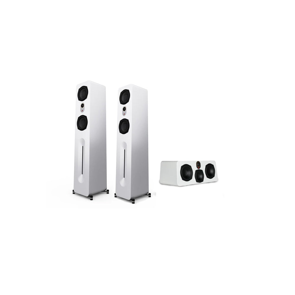 "Novus 5.25"" Tower and Center 3.0 Front Sound Stage"