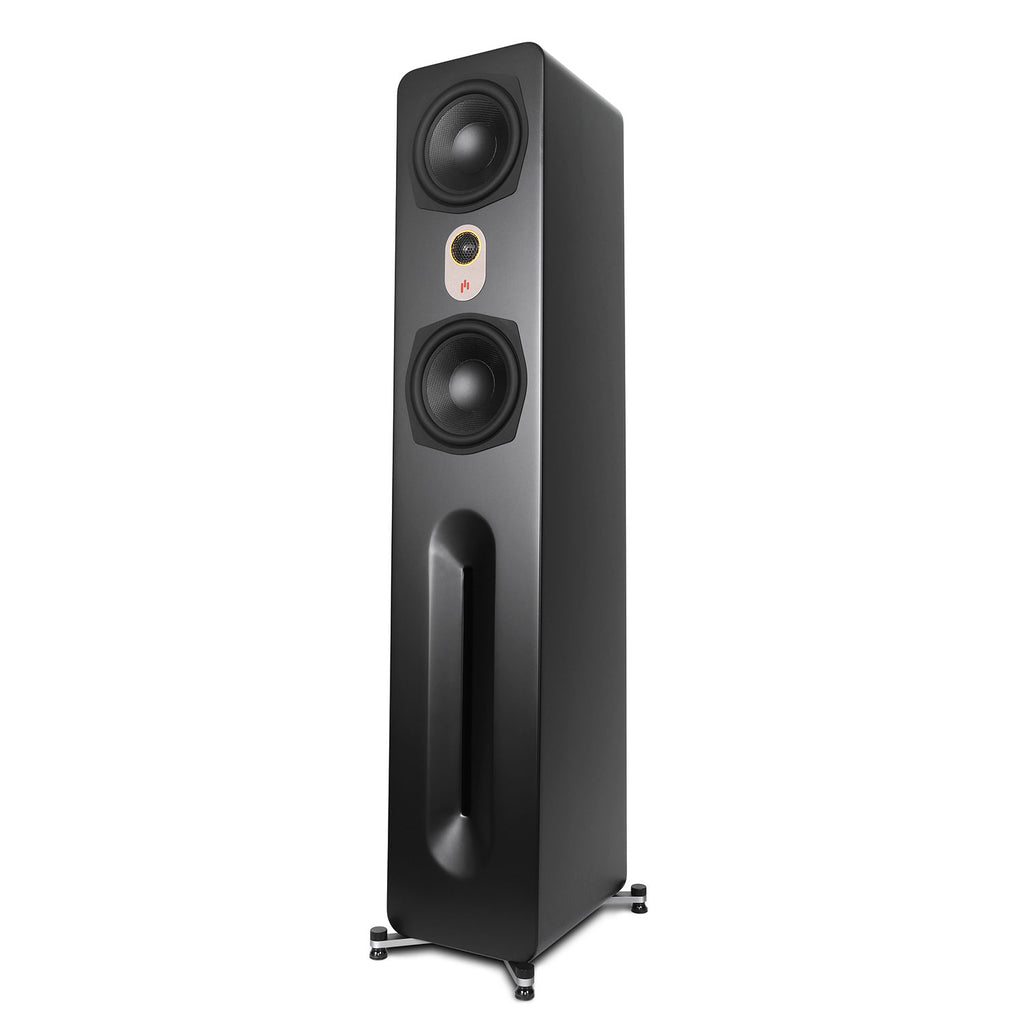 "Aperion Audio Novus 6T Dual 6.5"" 2-Way Floorstanding Tower Speaker - Single"