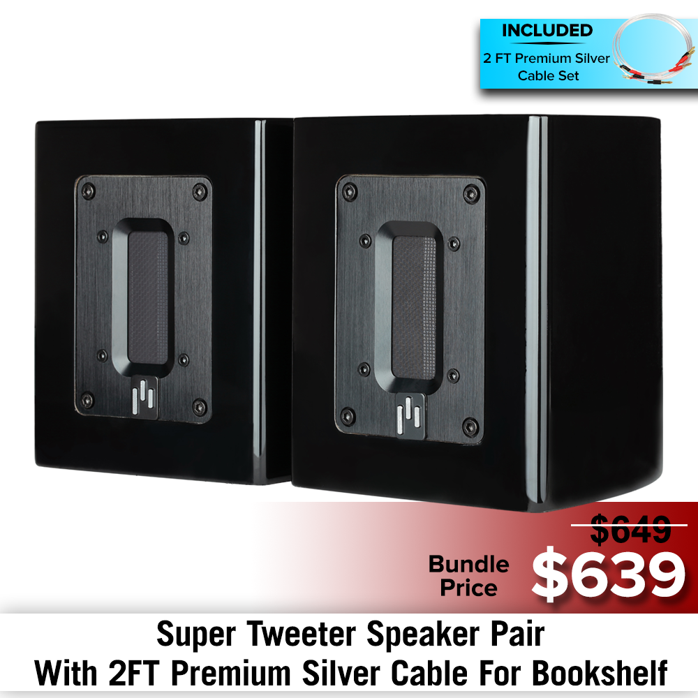 Aluminum Ribbon Super Tweeter Speaker Bundles