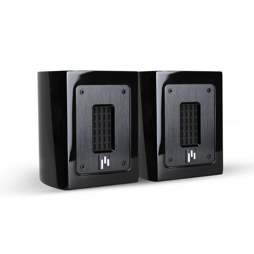 Open Box ~ Aperion Audio Planar-Magnetic Flat Ribbon Super Tweeter Speaker Pair Gloss Black - Aperion Audio