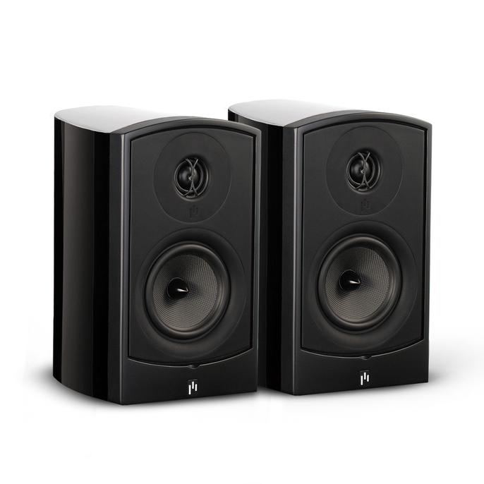 Open Box ~ Verus II Grand Bookshelf Speaker Pair - Gloss Black