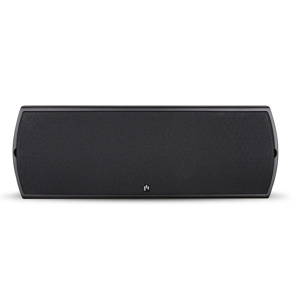 Closeout (New in Box) ~ Verus II Grand Center Channel Speaker - Gloss Black & Cherry Veneer - Aperion Audio