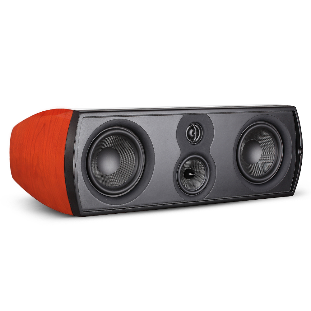 Open Box ~ Verus III Grand Center Channel Speaker - Gloss Cherry - Aperion Audio