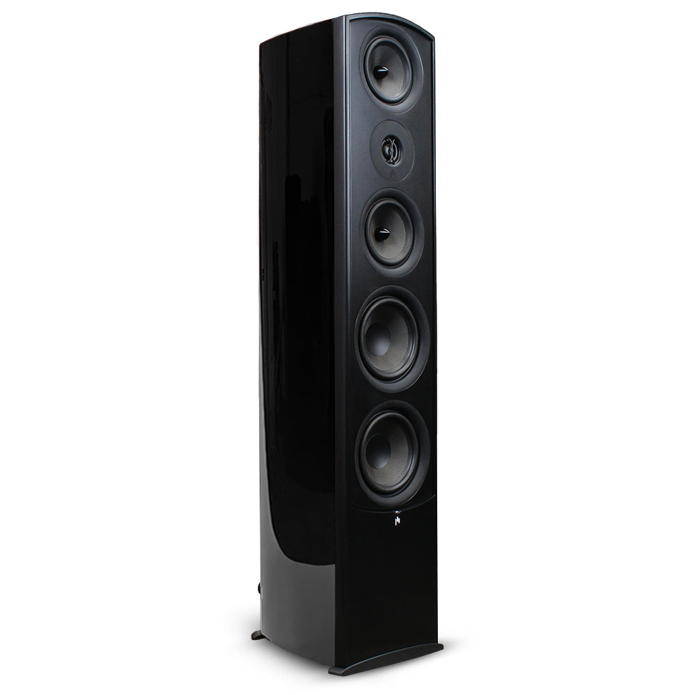 Closeout (New in Box) ~ Verus II Grand Tower Speaker - Gloss Black