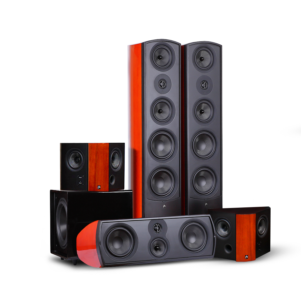 Verus III Grand Tower Surround 10D - Aperion Audio