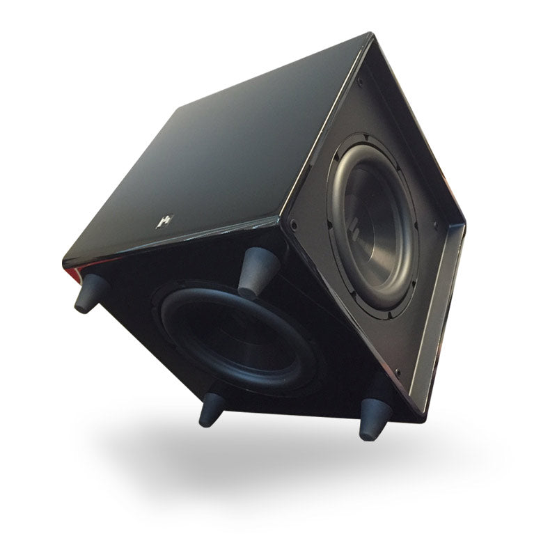 Open Box ~ Bravus II 8D Powered Subwoofer - Stealth Black