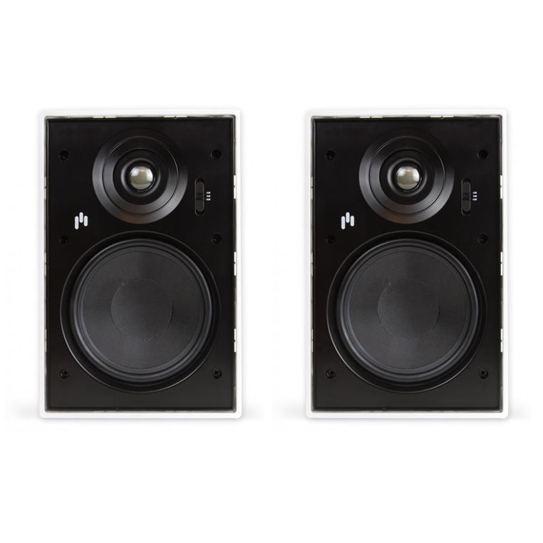 "Aperion 6.5"" In-Wall Speaker Pair White"
