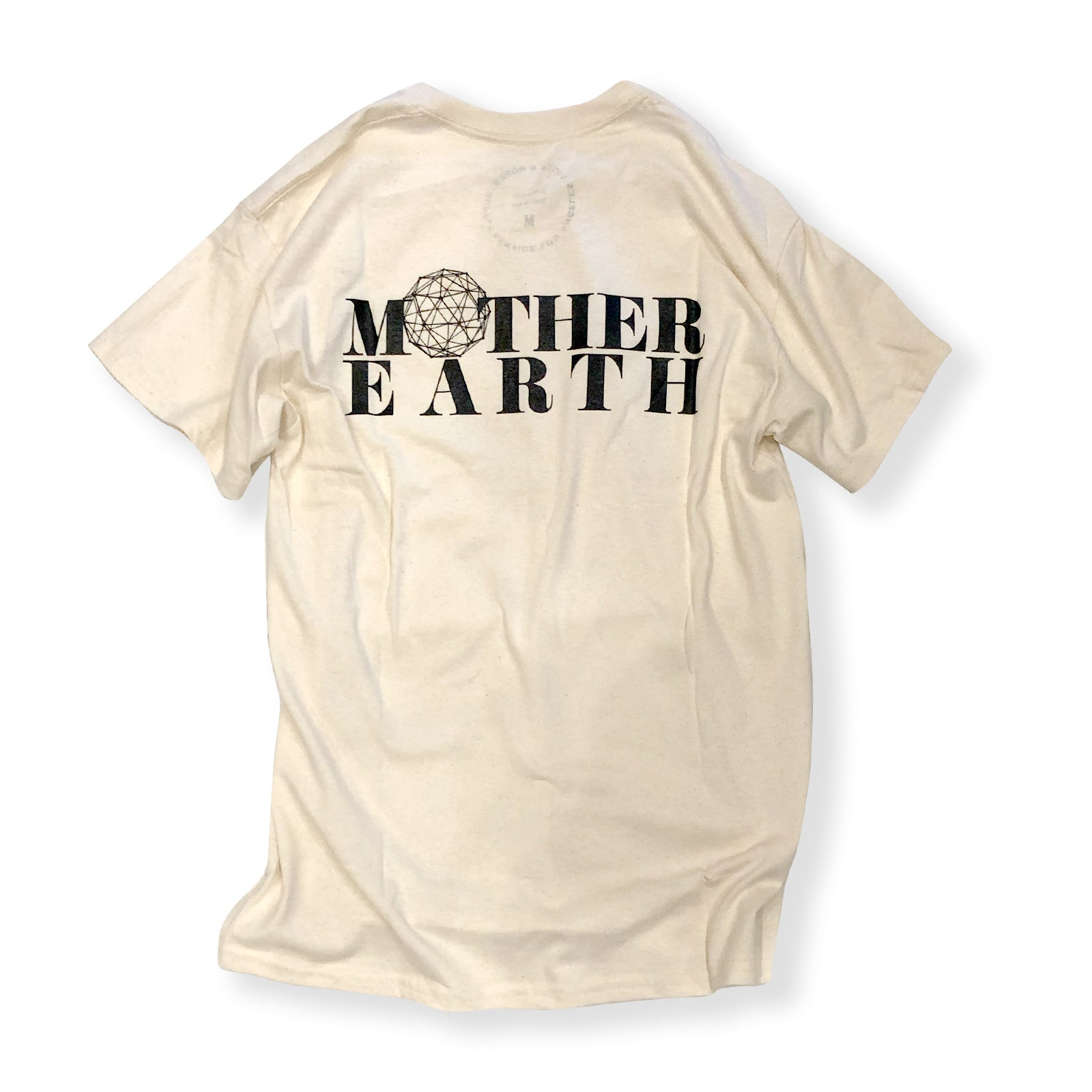 VIOLA&ROSES / MOTHER EARTH S/S TEE (NATURAL)