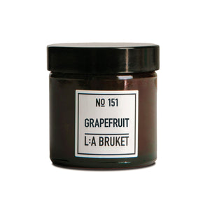 L:A BRUKET / 151 SCENTED CANDLES  GRAPEFRUIT(50g)