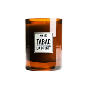 L:A BRUKET / 153 SCENTED CANDLES  TABAC(260g)