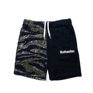 ROTTWEILER / MilitarySweat Shorts (BLACK)