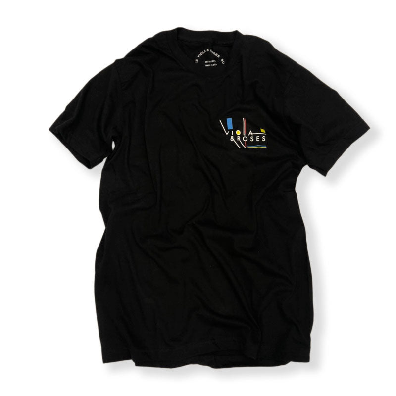VIOLA&ROSES / MC S/S TEE SHIRT (BLACK)