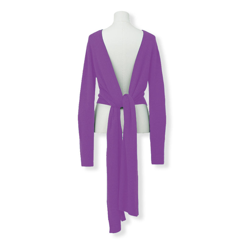 MYLAN / 2way rib knit (Orchid)