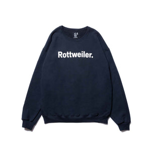 ROTTWEILER / R・W Sweater (BLACK)