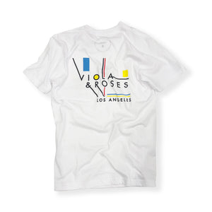 VIOLA&ROSES / MC S/S TEE SHIRT (WHITE)
