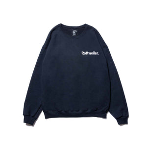 ROTTWEILER / Logo Sweater (BLACK)