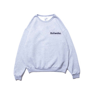 ROTTWEILER / Logo Sweater (GRAY)