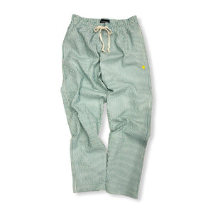 VIOLA&ROSES / STRIPE DRAWCORD PANTS (MINT)