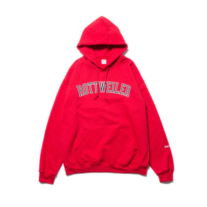 ROTTWEILER / College Logo Parka (RED)
