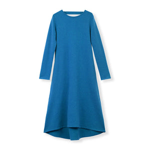 MYLAN / Back Ribbon Knit Dress (Sapphire Blue)