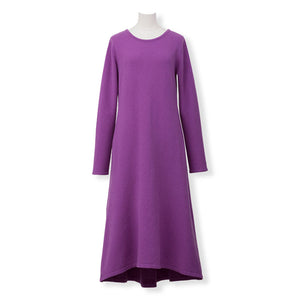 MYLAN / Back Ribbon Knit Dress (Orchid)