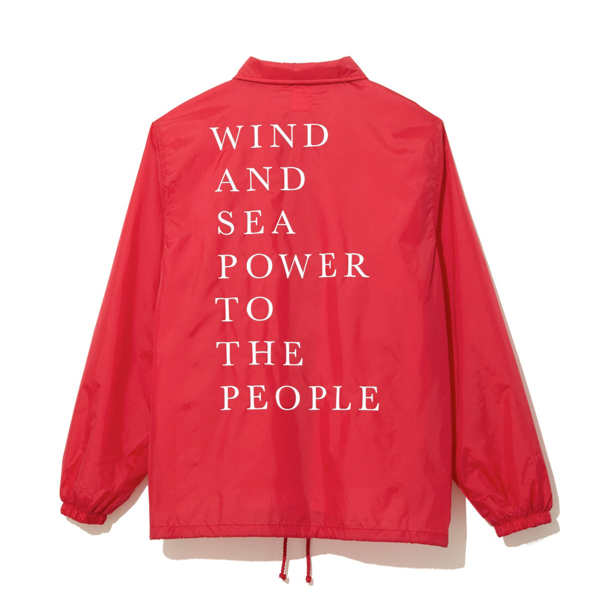 WIND AND SEA / COACH JACKET B (RED)
