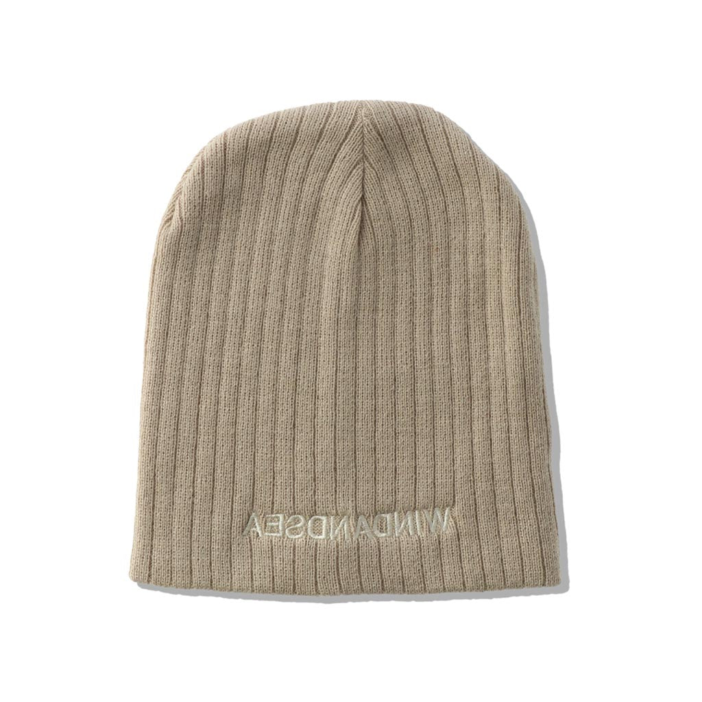 WIND AND SEA / WDS CABLE BEANIE (BEIGE)