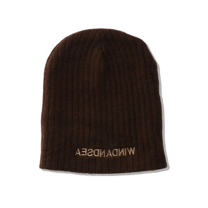 WIND AND SEA / WDS CABLE BEANIE (BROWN)